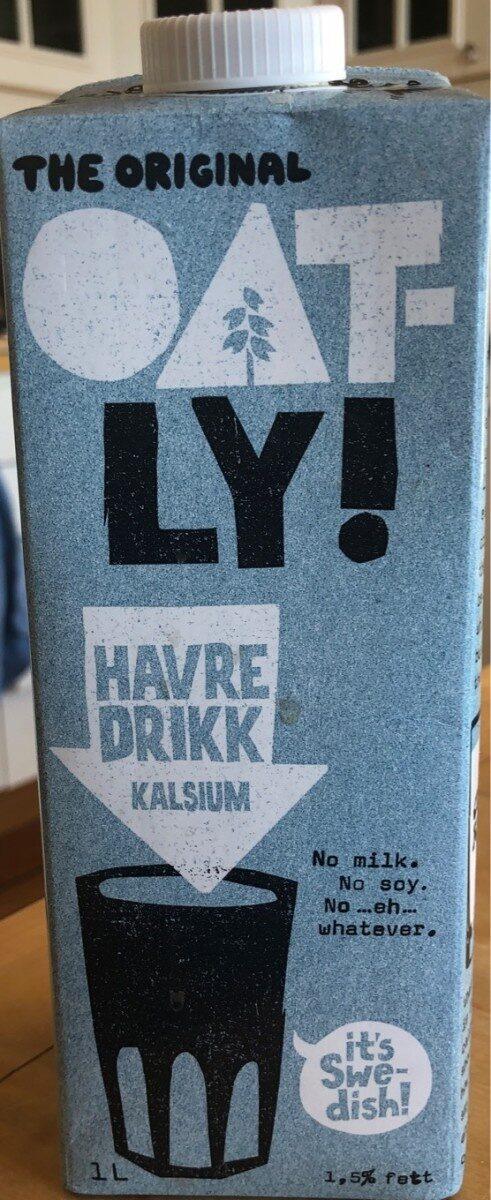 Havre drikk kalsium - Produit - fr