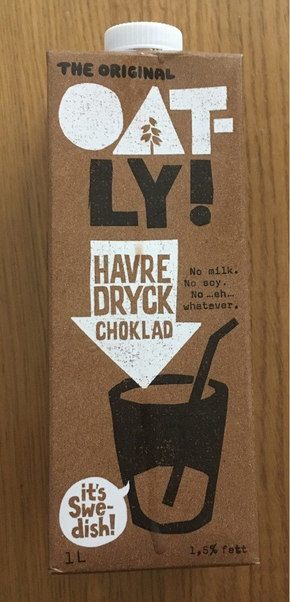 OATLY Havredryck choklad - Produit - fr