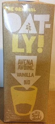 Lait Avoine Vanille Bio - Produit - fr