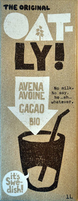 Oatly avena cacao bio - Producte