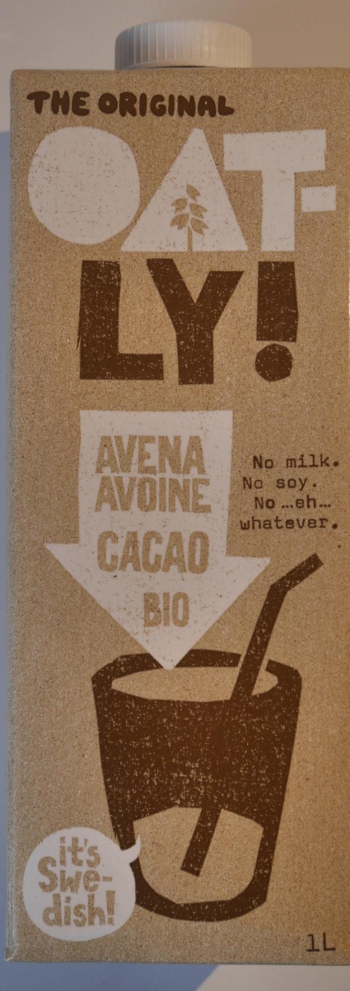 Oatly avena cacao bio - Produit