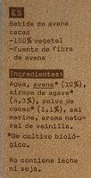 Oatly avena cacao bio - Ingredients