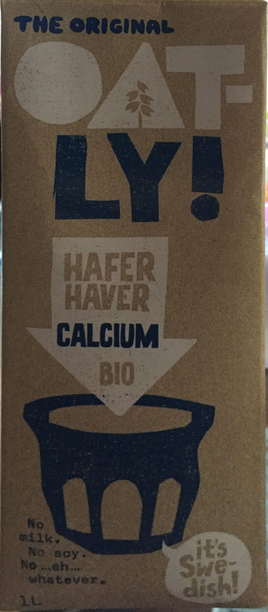 The Original Oatly - Product