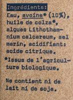 The Original Oatly - Ingredients