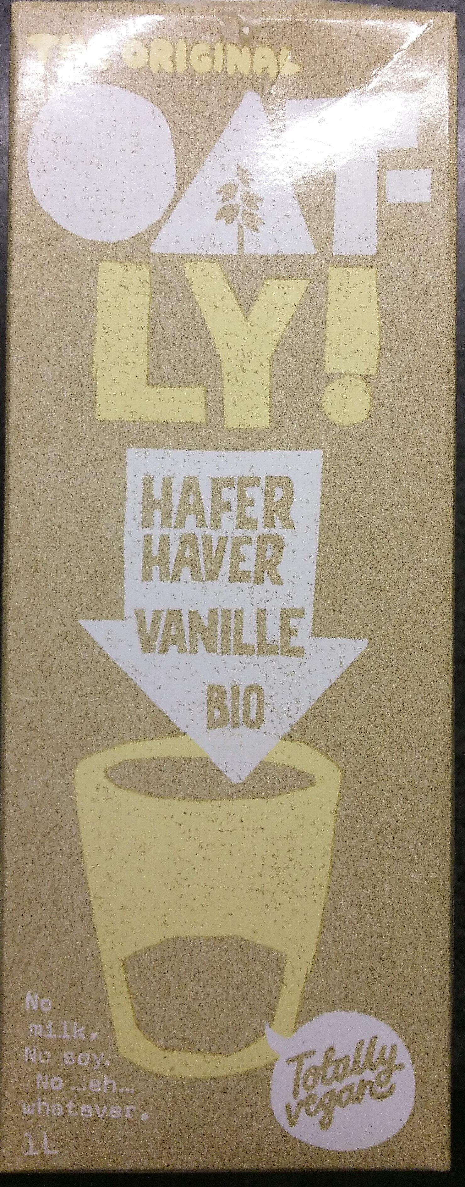 Oatly Haferdrink Vanille Bio - Product - de