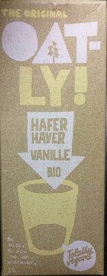 Oatly Haferdrink Vanille Bio - Produit - fr