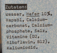Hafer Calcium - Ingredients - en