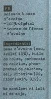 Oat - Ingrédients - fr
