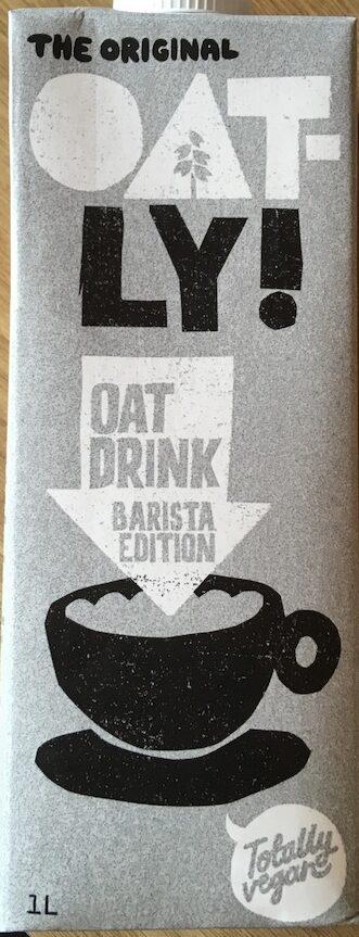 Oatly Barrista - Produit - en