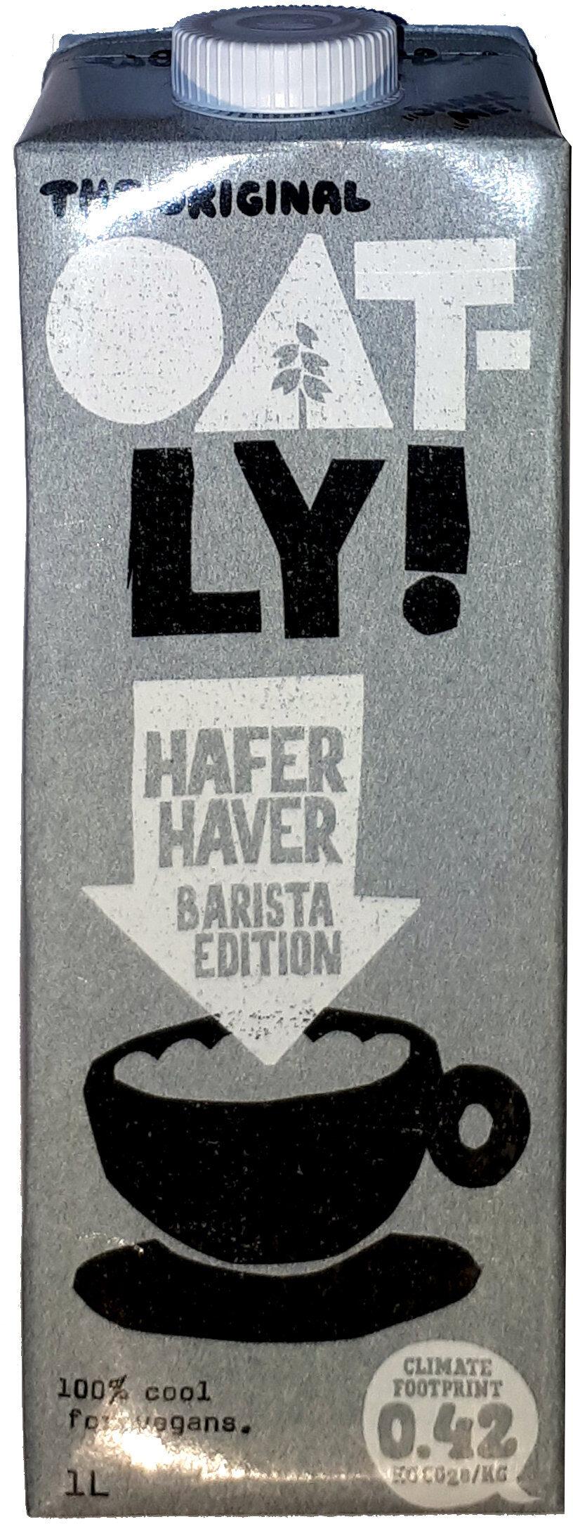 Haferdrink Barista-Edition - Produkt - de