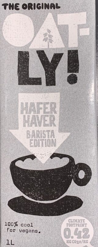 OATLY Hafer Barista - Product - en