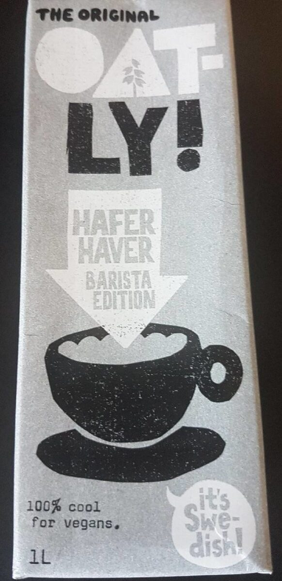 Hafer barista edition - Product