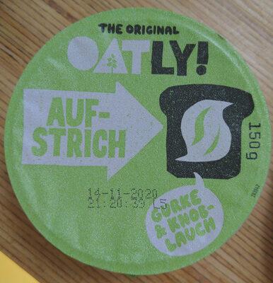 Cremiger Aufstrich Gurke & Knoblauch - Product - en