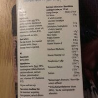 Oatly skinny oat milk - Ingrédients - en