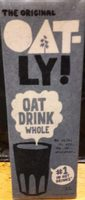 The Original Oat-ly Oat Drink Whole - Produit - fr