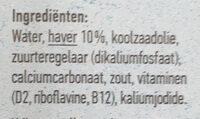 Oatly haver drink halfvol - Ingredients - en