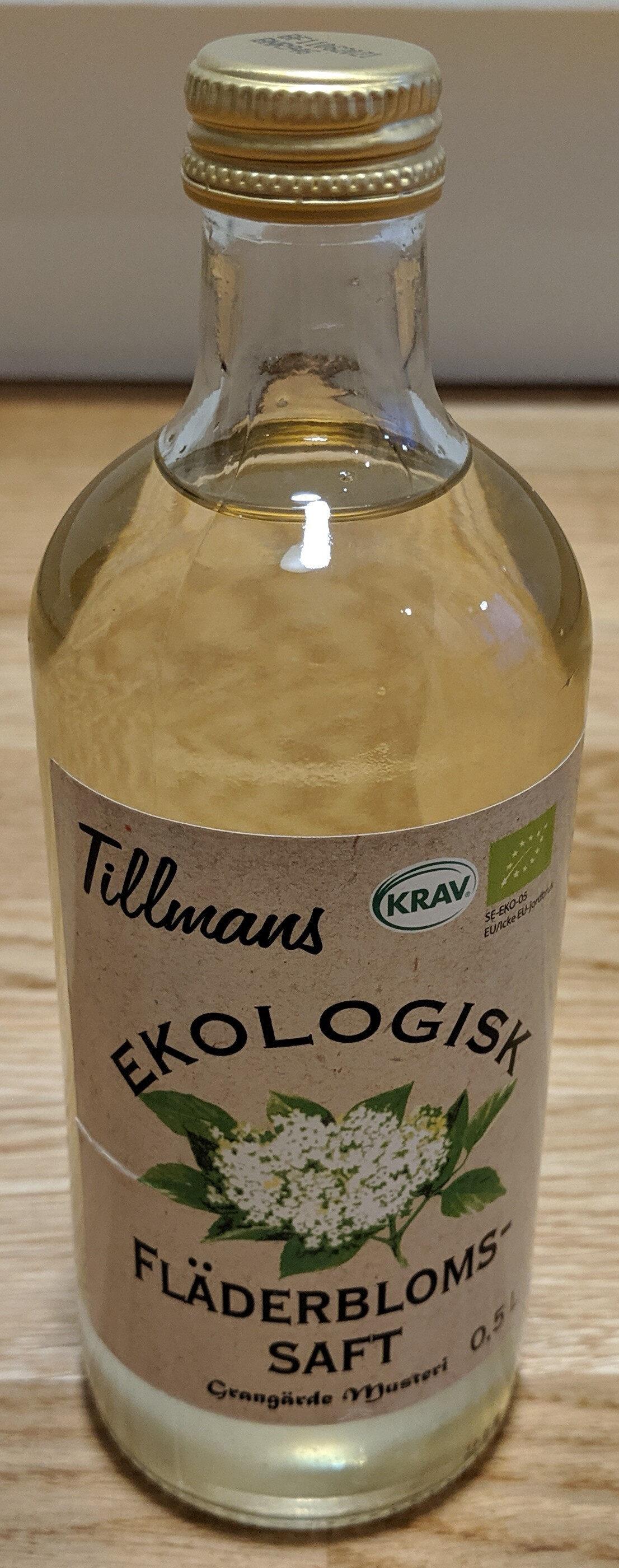Tillmans Ekologisk Fläderbloms-saft - Produkt