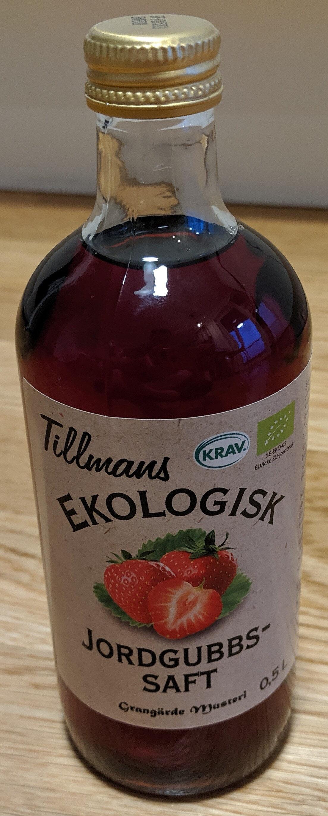 Tillmans Ekologisk Jordgubbs-saft - Produkt