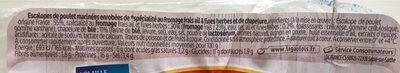 Les Milanaises - Ingrediënten