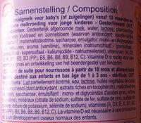 lait de croissance - Ingrediënten