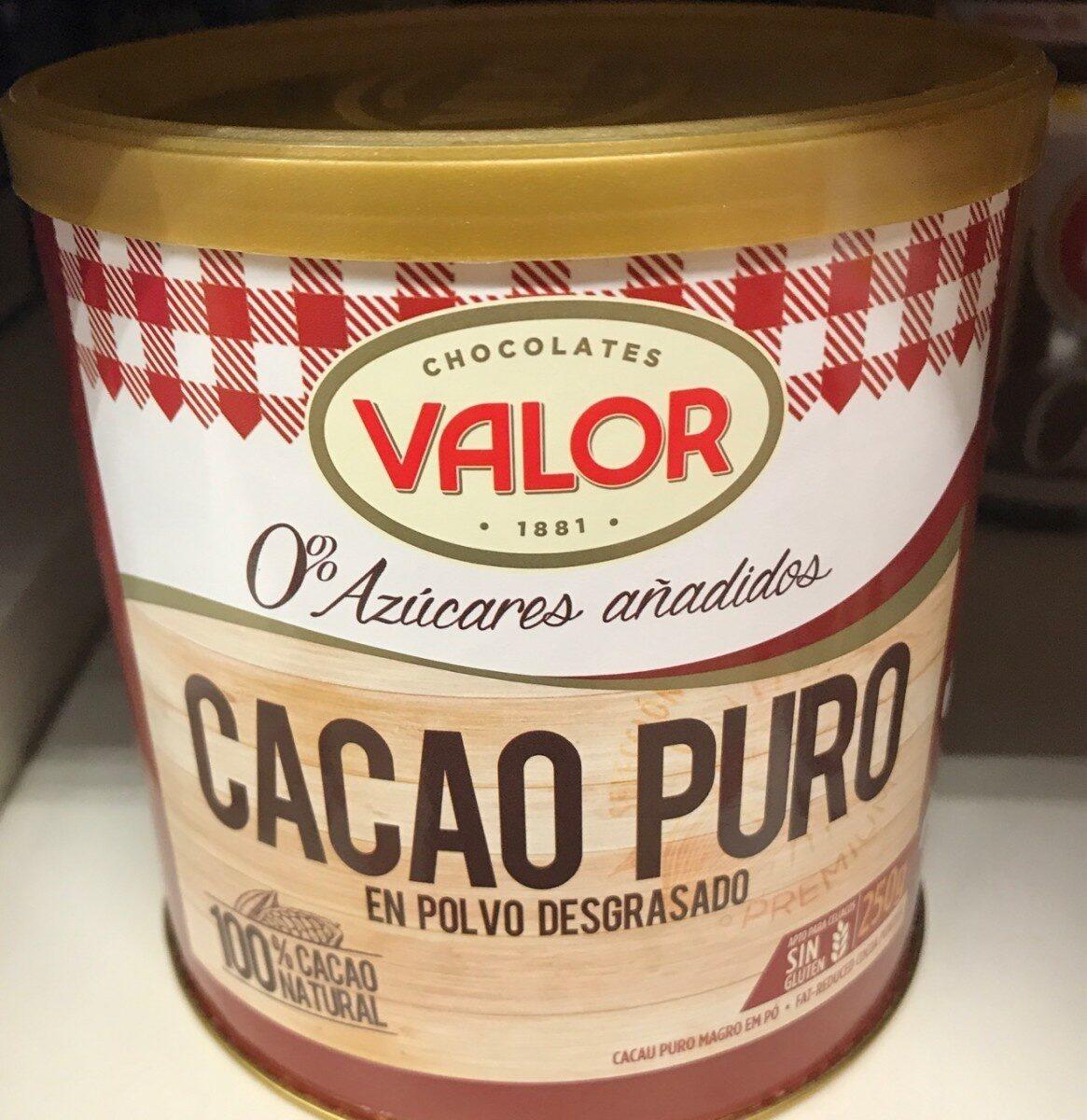 Cacao puro 0% - Product - es
