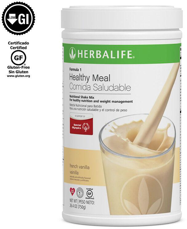 Fórmula 1 Comida Saludable Mezcla Nutricional para Batido: Vainilla 750 g - Product - en