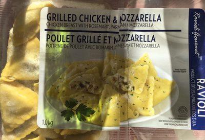 Ravioli de poulet grillé et mozzarella - Product