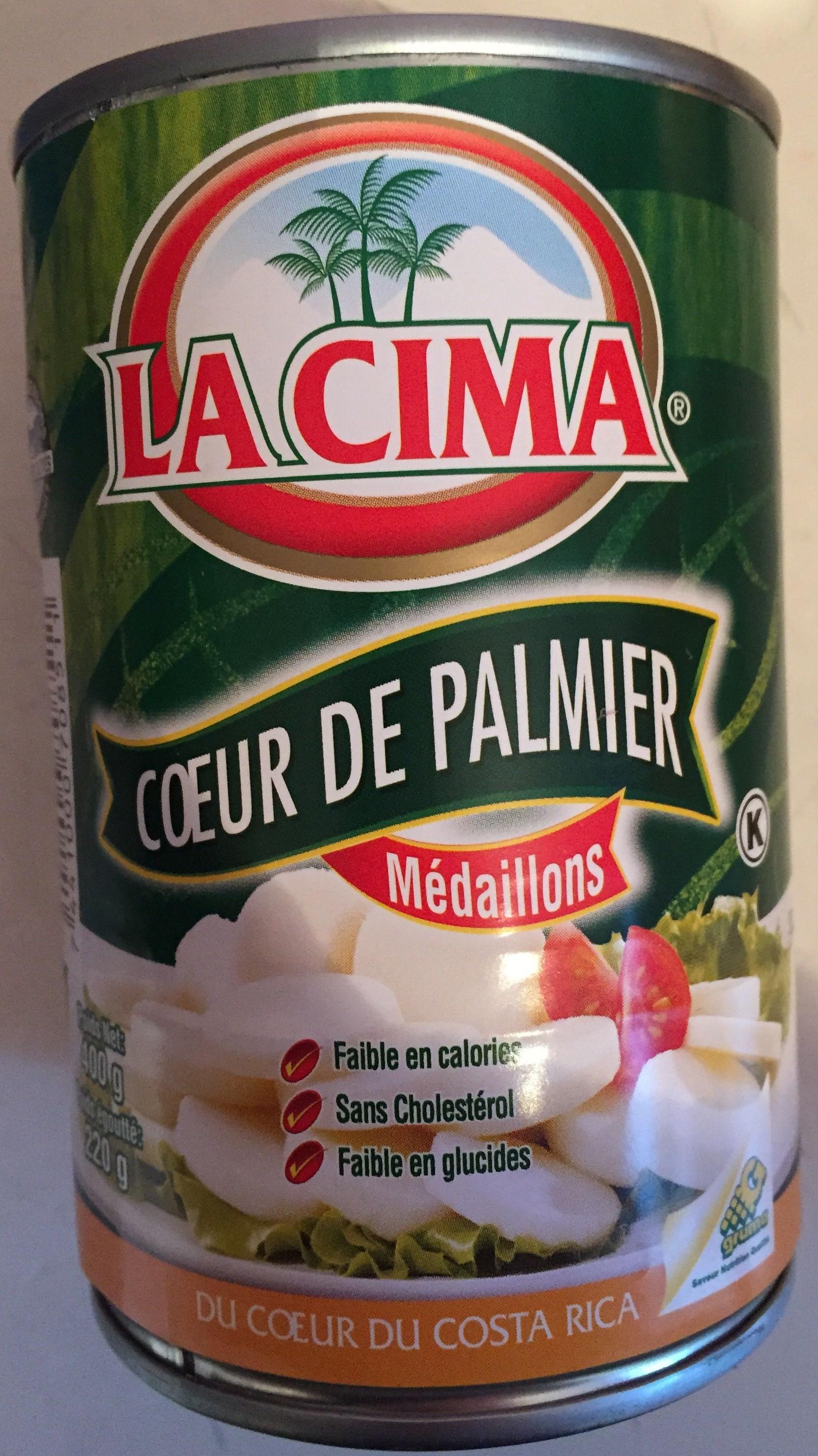 Coeur de Palmier Médaillons - Product - fr