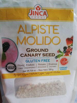 alpiste molido - Ingredients - es