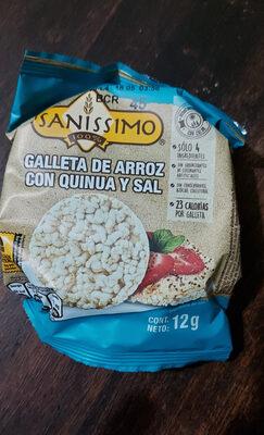 galleta de arroz con quinoa y sal - Product