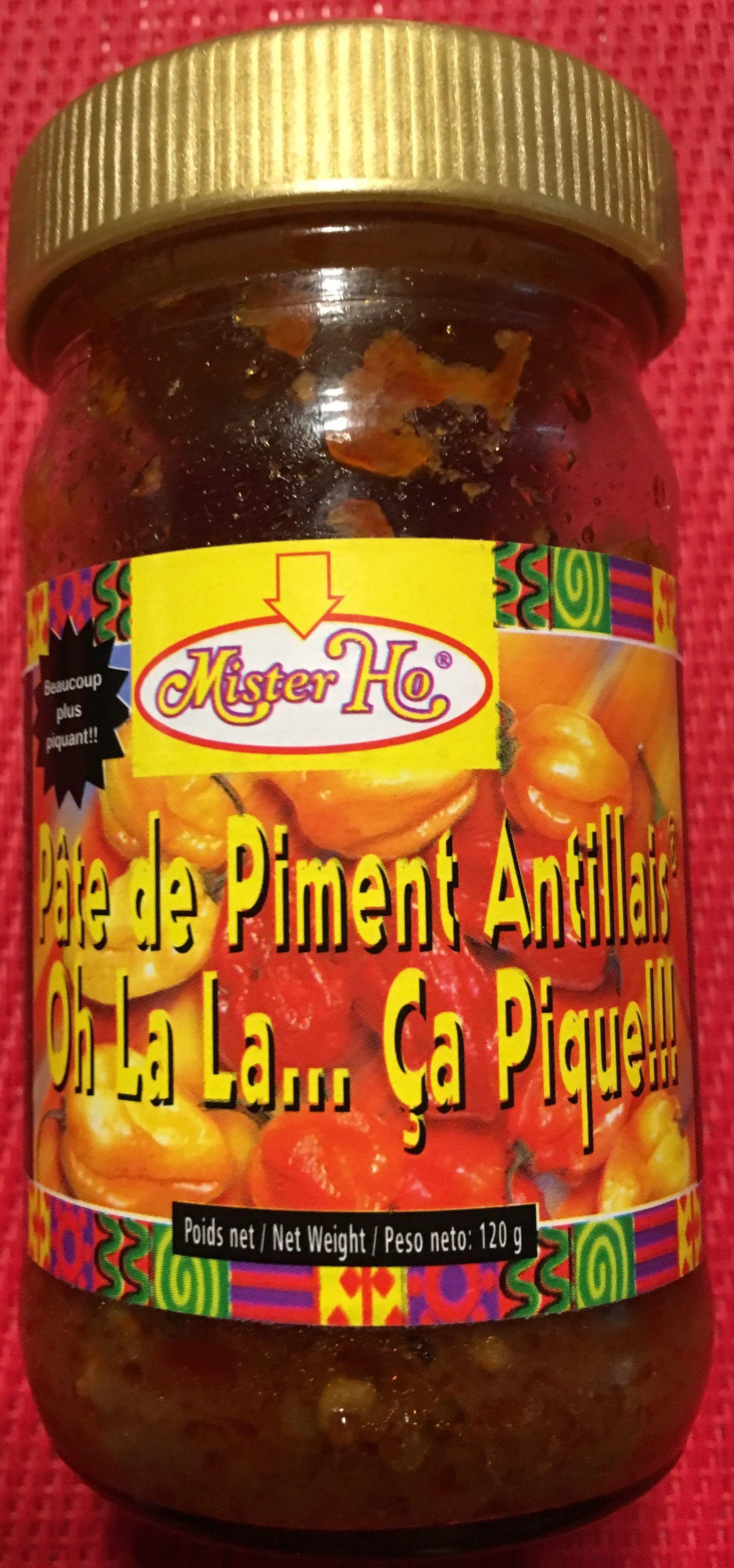 Pâte de piment Antillais - ho la la... ça pique - Product