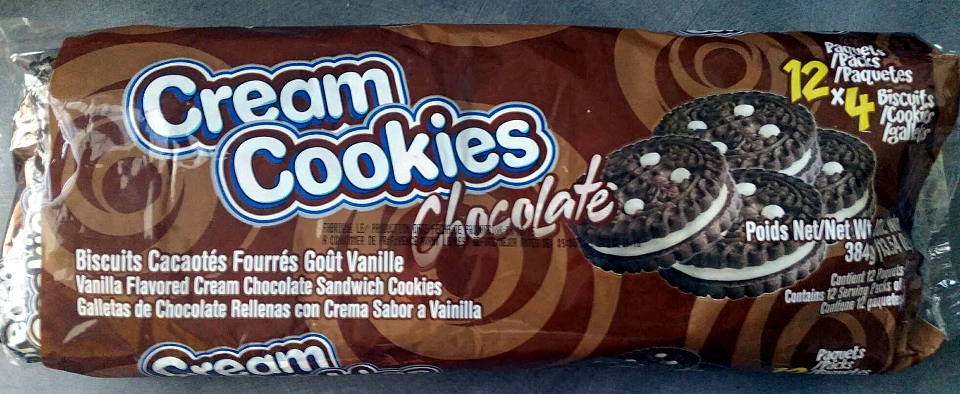 Cream Cookies Chocolate - Product - fr
