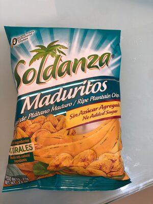 Platanitos Maduros Soldanza - 2