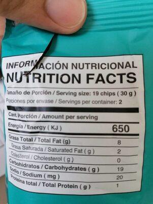 Platanitos Maduros Soldanza - Información nutricional - fr