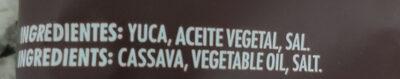 Yuquitas - Ingredientes - es