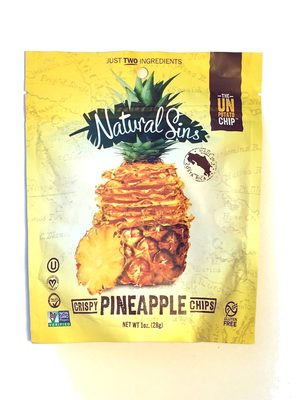 Pineapple crispy chips - Ingrediënten - en