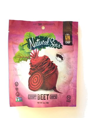 Crispy Beet Chips - Product