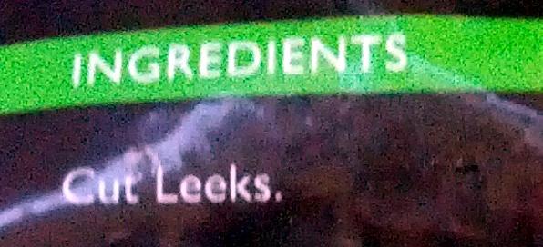 Cut Leeks quick frozen for freshness - Ingredients - en