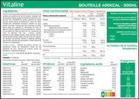 Vitaline Focus - Ingrediënten - fr
