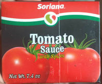Tomato Sauce with Spices - Product - en