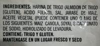 Pretzels - Ingredients - es