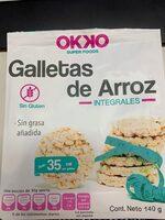 Galletas de arroz integrales - Producto - es