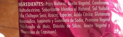 Pap's - Ingrediënten - es
