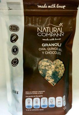 Natural company Granola - Product - es