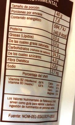 Natural company Granola - Voedingswaarden - es