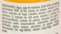 Very sabor Mango - Ingrédients