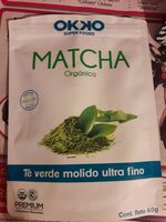 Matcha orgánico - Nutrition facts - es