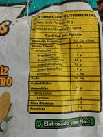 Cheetos Bigochos - Nutrition facts