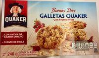 Buenos Días Galletas Quaker con Frutos Rojos - Produit - es