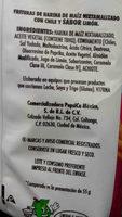 Churrumais con limoncito - Ingredients